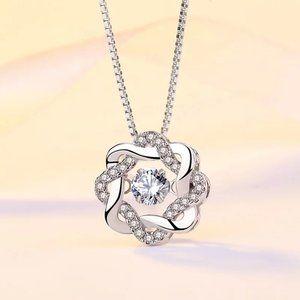 Jewelry - Elegant S925 Octagon CZ Dance Necklace